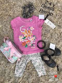 Authentic Guess kidss tops