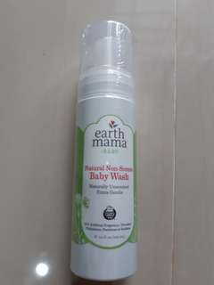 Natural non-scents body wash
