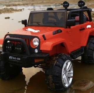 四驅二人座兒童電動車吉普車jeep
