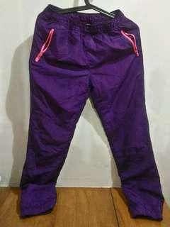Bossini violet thermal jogging pants