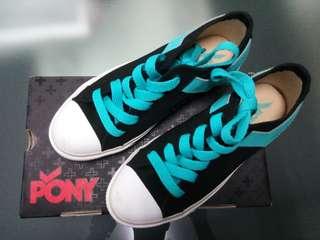 🚚 全新pony帆布鞋23.5