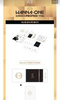 現貨 Wanna One 2nd Mini Album OFFICIAL MD PACKAGE