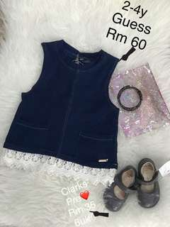 Authentic Guess kids tops