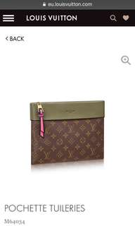 RAYA SALE!!! Louis Vuitton Pochette Tuileries Small