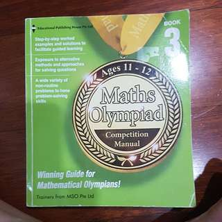 Maths Olympiad Competition Manual Book 32