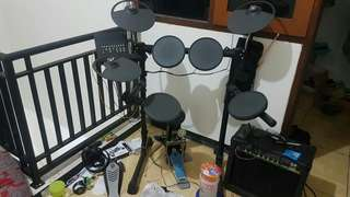 Drum second yamaha dtx