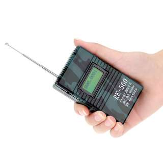 🚚 New stock, Accurate Portable Handheld Frequency Counter RK560 50MHz-2.4GHz DCS CTCSS Radio Testing Frequency Meter Counter