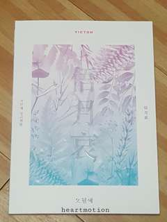 VICTON 빅톤 First Single Album - Time of Sorrow (Unsealed and without PC)