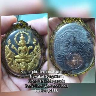 9 face phra lersi maha jakkapat Nawakot Song Khrut