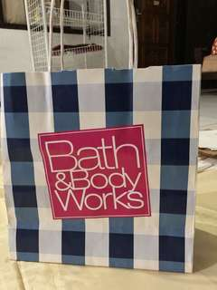 Bath and body works paperbag