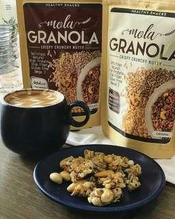 Cemilan sehat Granola