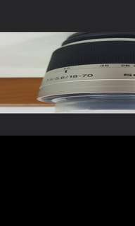 Sony A Mount 18-70 lens