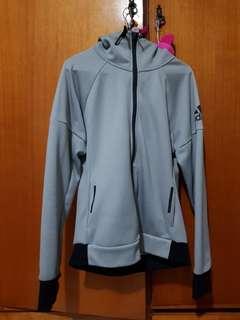 Adidas Grey/black Hoodie sport