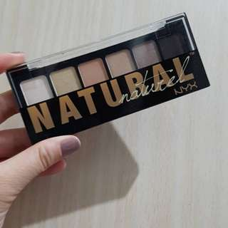 Authentic NYX Professional Makeup The Natural Shadow Palette