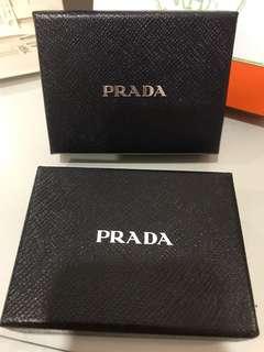 Prada card holder box