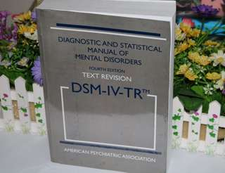Diagnostic and Statistical Manual of Mental Disorders (4th Edition Text Revision)
