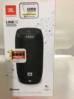 JBL Bluetooth speaker LINK 10