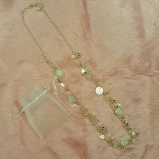 Long Necklace with Pouch