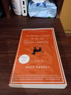The Curious Incident of dog in the night time by Mark Haddon