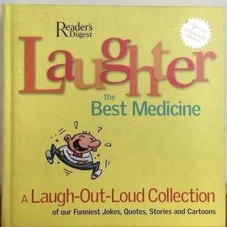 Reader's Digest Laughter is the Best Medicine Limited Edition #bookbazaar