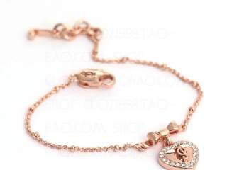 Juicy Couture 玫玫金 Rosegold bracelet