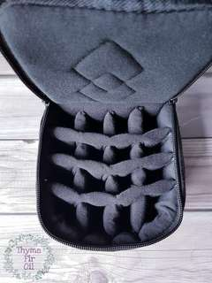 16-slot Essential Oil Carrying Case - Black