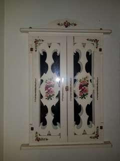 Mirror window frame(vintage flower)