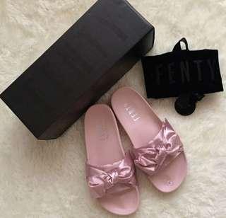 Sale!!! Php4500 Puma Fenty Pink Bow Slide