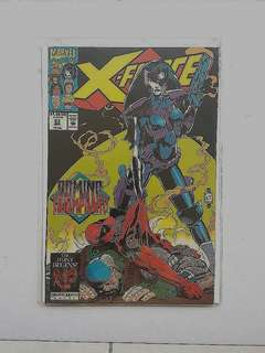 Marvel Comics X-Force 23 Near Mint Condition Domino vs Deadpool Movie 2