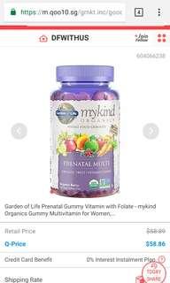 Prenatal multivits ( vegan gummy drops)