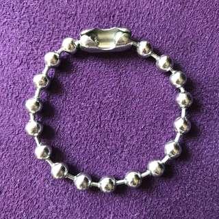 銀色不銹鋼手鏈 Silver bracelet