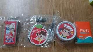 不二家 Fujiya  牛奶妹 Peko 文具 memo 菓子 (共3款)