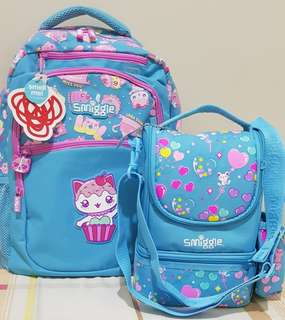 SALE SMIGGLE BACKPACK&LUNCHBOX