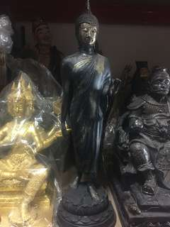 Standing Buddha amulet bucha
