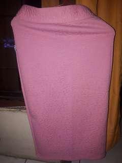 Rok pink motif