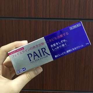Pair ance cream