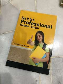 How to be a professional Hömê tutor