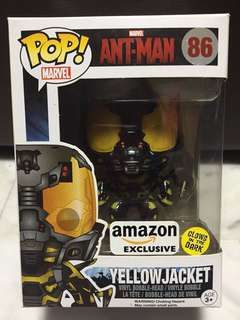 Funko Pop Ant-Man Yellowjacket Amazon Exclusive Glow in the dark