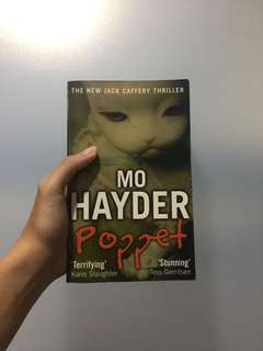 poppet by mo hayder 📓