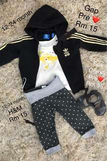 Authentic Gap and H&M kids