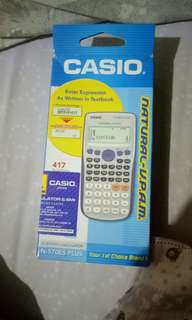 Calculator casio natural V.P.A.M