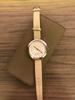 Esprit Nude Leather Watch