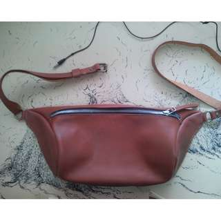 Customize Leather Sling Bag/Cross Body