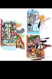 (set of 3)- BN Soft Cloth Sensory books (set of 3)