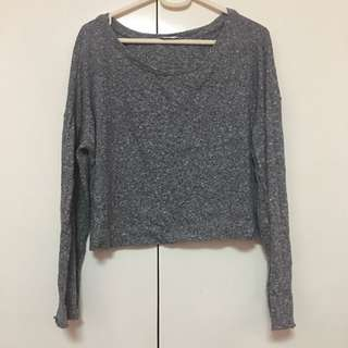 Zara Knitted Semi Crop Sweater