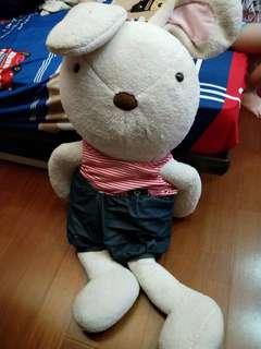 大型兔子娃娃