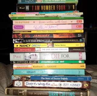 Assorted Novels! #MayRathon
