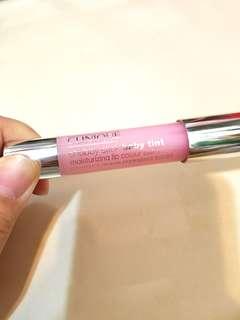Clinique Chubby Stick baby tint moisturizing lip color balm c65 粉紅色