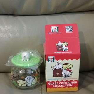 7eleven Moon and Pompompurin jar