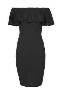 COTTON ON Black Off Shoulder Dress
